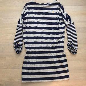 Girls Polo Dress, Scrunched Waist & Fun Sleeves